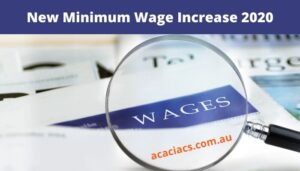 New Minimum Wage Increase 2020